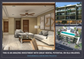 Isla Mujeres, Quintana Roo, Mexico, 1 Bedroom Bedrooms, ,1 BathroomBathrooms,Condo,For Sale,21339
